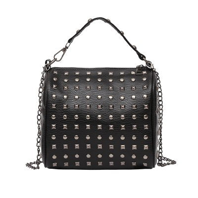 Studded Mini Bowling Bag - 5 Colors