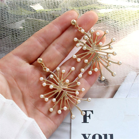 Frizia Pearl Fireworks Earrings