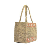 Vanessa Raffia Box Straw Tote - 2 Colors