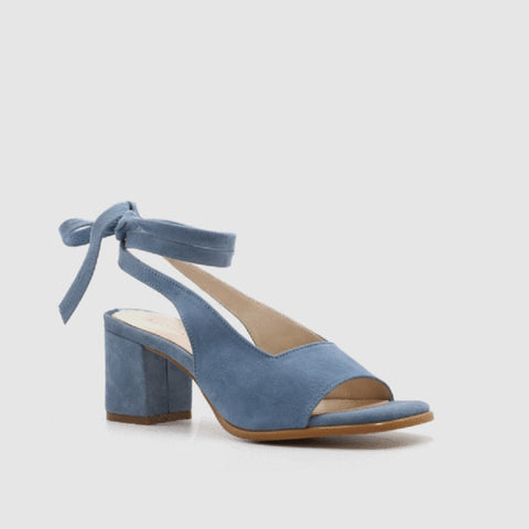 Cecilia Strappy Suede Peep Toe Sandals - 2 Colors