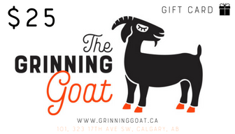 Grinning Goat Gift Card