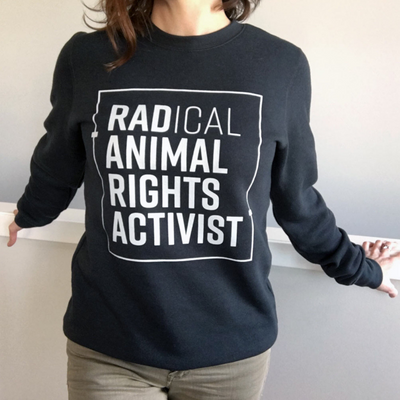 Rad Activist Unisex Crewneck Sweater - The Grinning Goat