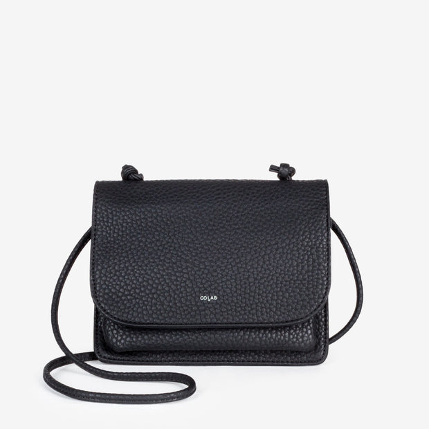 Madison Carry-All Crossbody - Black - The Grinning Goat