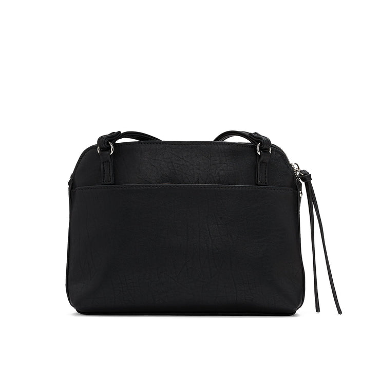 Tumbled Basic Crossbody - Black - The Grinning Goat