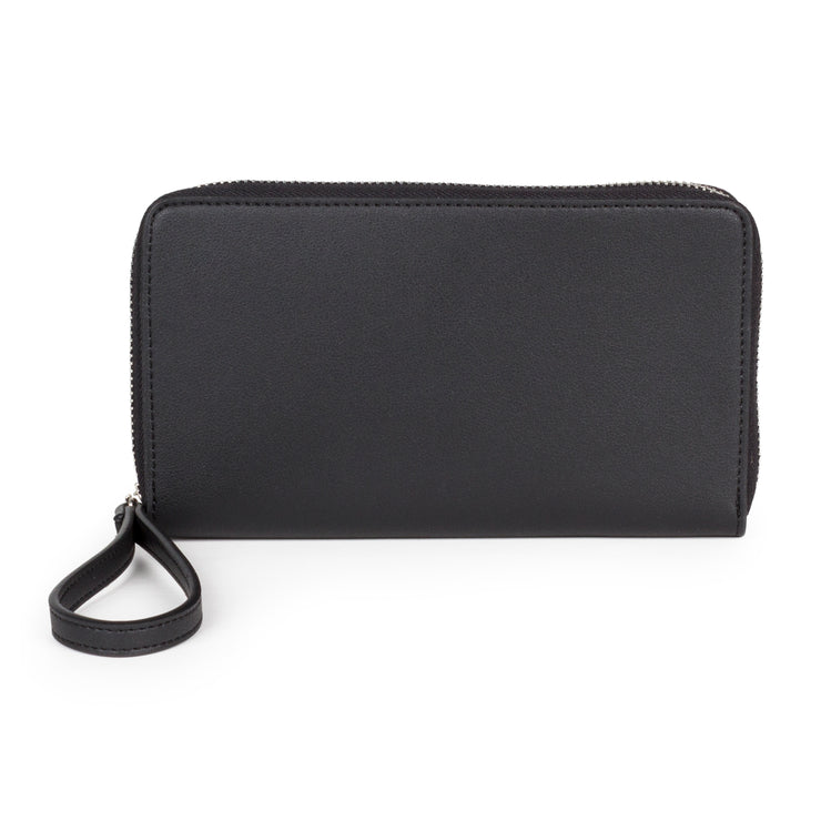 Phone Wallet - Black - The Grinning Goat