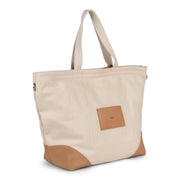 Small Canvas Tote - Cream - The Grinning Goat