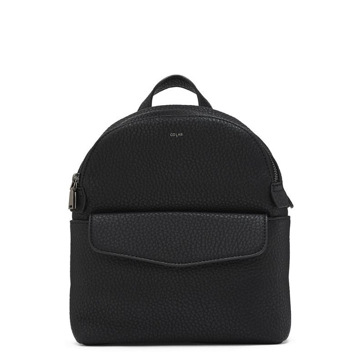 Pebble Mini Backpack - Black - The Grinning Goat