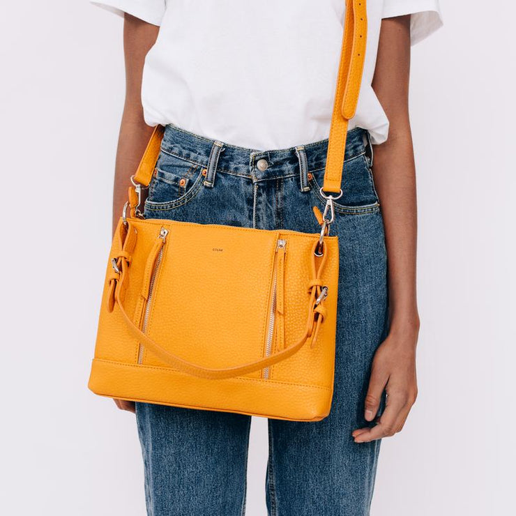 Pebble Clutch Crossbody - Bone - The Grinning Goat