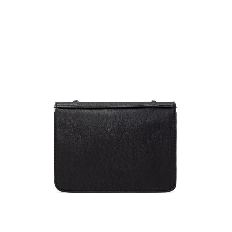 Tumbled Crossbody Carry-All - Black - The Grinning Goat