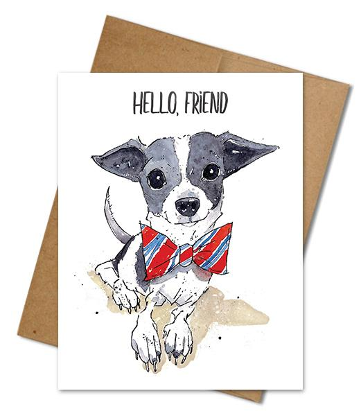 Friend Card - The Grinning Goat