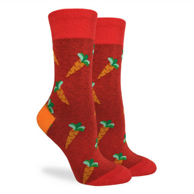 Carrots Crew Socks - The Grinning Goat