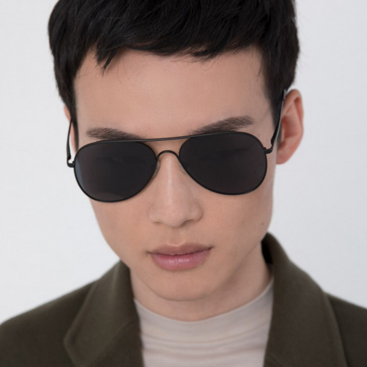 Kai Sunglasses - Black - The Grinning Goat