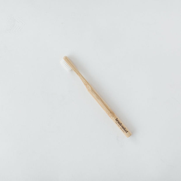 Bamboo Toothbrush - Adult Soft - Naked - The Grinning Goat