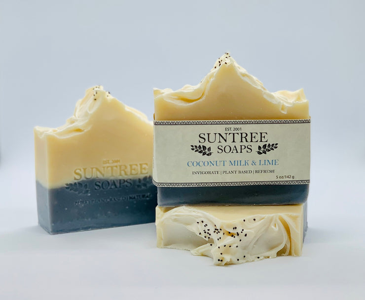 Coconut Milk & Lime Bar Soap