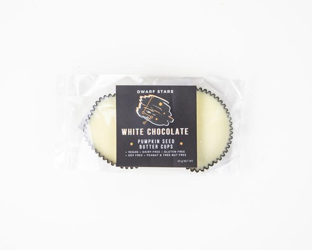 2pc White Chocolate Pumpkin Butter Cups - The Grinning Goat