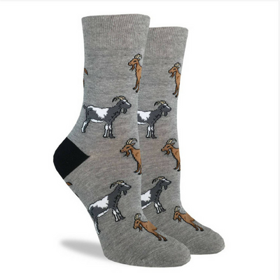 Goats Crew Socks - The Grinning Goat