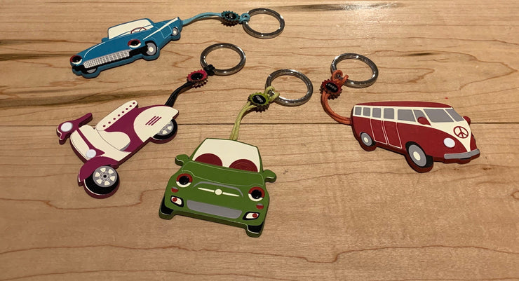 Espe Vehicle Key Rings - The Grinning Goat