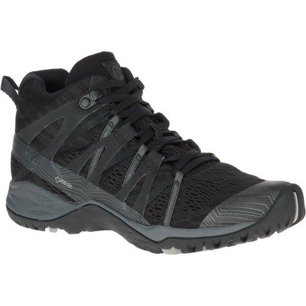 Women's Siren Hex Q2 Mid E-Mesh GTX - Black - The Grinning Goat