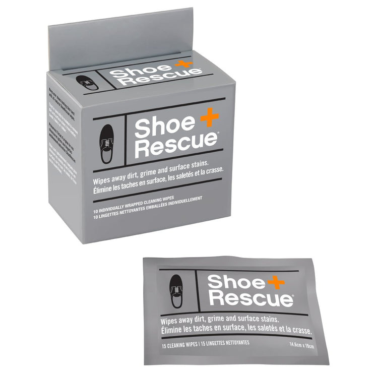 Shoe Rescue Wipes - Box of 10 - The Grinning Goat