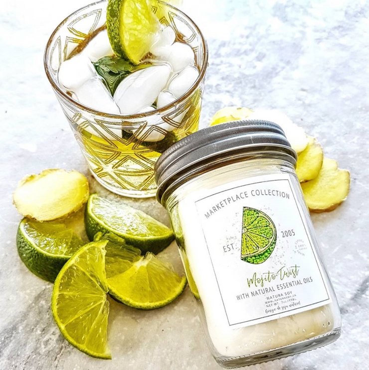 Mojito Twist Marketplace Jar