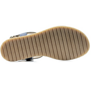 Footbed Sandals Cobalt - The Grinning Goat