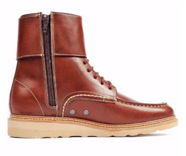 Brown Stockholm Boot - The Grinning Goat