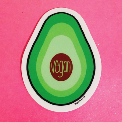 Avocado Sticker - The Grinning Goat