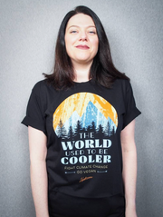 The World Used to be Cooler Organic Unisex Tee - The Grinning Goat
