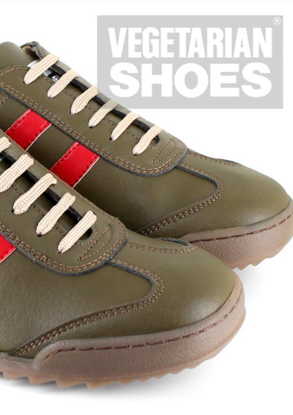 X Trainer (Olive/Red) - The Grinning Goat