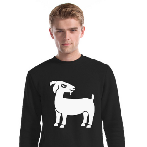Grinning Goat Bamboo & Organic Cotton Unisex Sweater