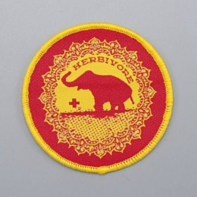 Good Luck Elephant Iron-On Patch