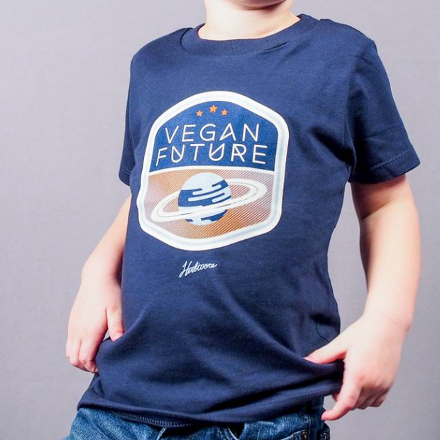 Vegan Future Planet Kids Tee - The Grinning Goat