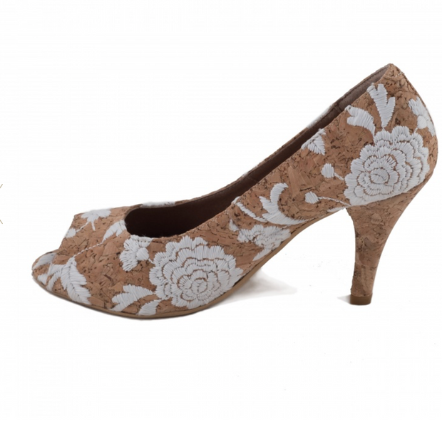 Flor Cork Pumps - The Grinning Goat