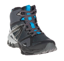Women's MQM Flex Mid Waterproof - Black - The Grinning Goat