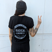 Radical Kindness Unisex Tee - Black - The Grinning Goat