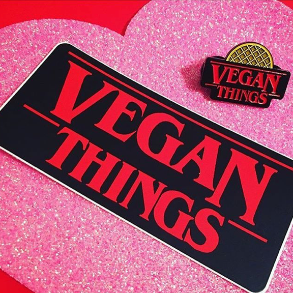 Vegan Things Sticker - The Grinning Goat