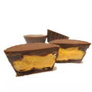 4pc Peanut Butter Cups - The Grinning Goat
