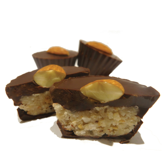 4pc Coconut Almond Cups - The Grinning Goat