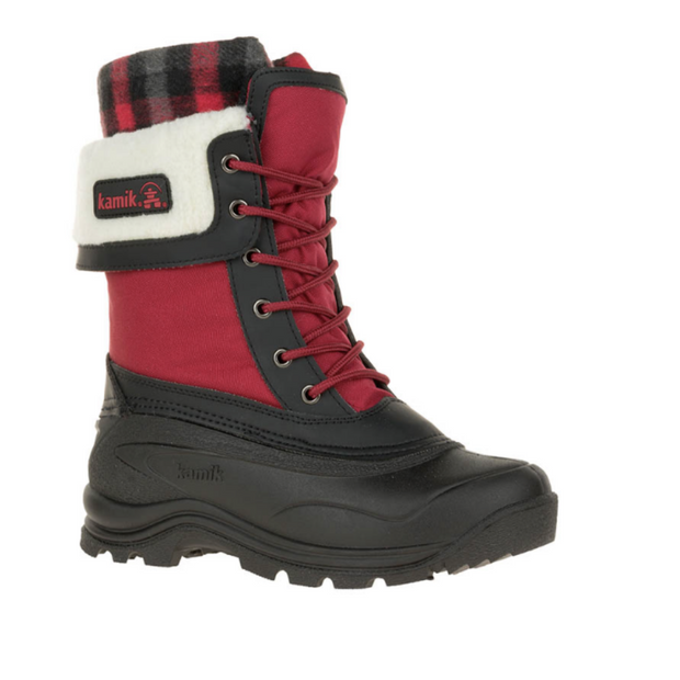 Sugarloaf Winter Boots - Red - The Grinning Goat