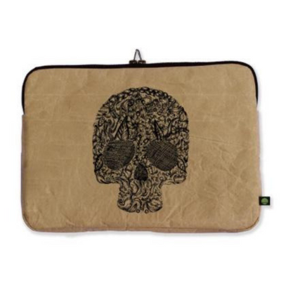 "13"" Laptop Sleeve - Skull - The Grinning Goat"