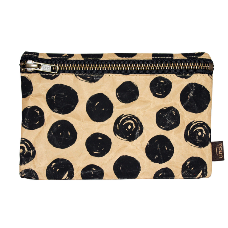Pencil Pouch - Black Dot