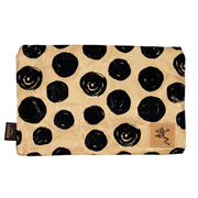 Pencil Pouch - Black Dot - The Grinning Goat