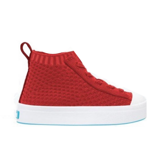 Jefferson 2.0 High Liteknit Child - Torch Red - The Grinning Goat