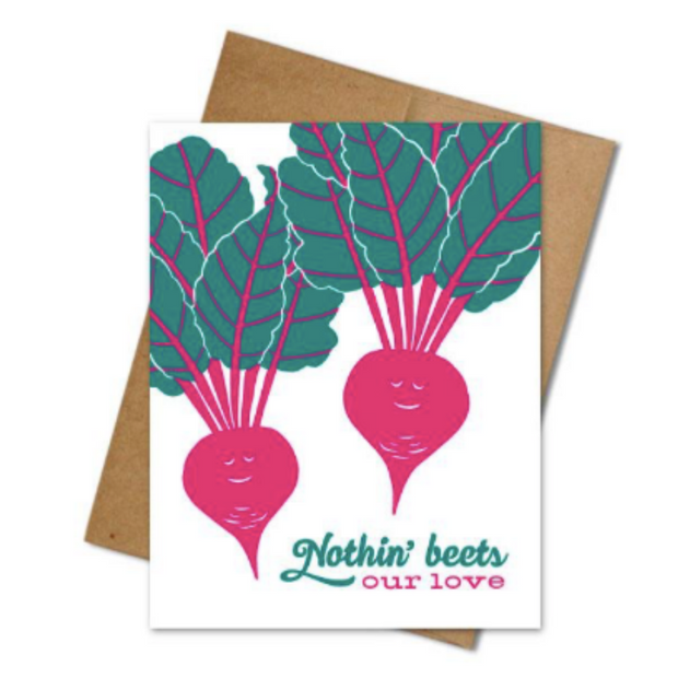 Beet Love Card - The Grinning Goat