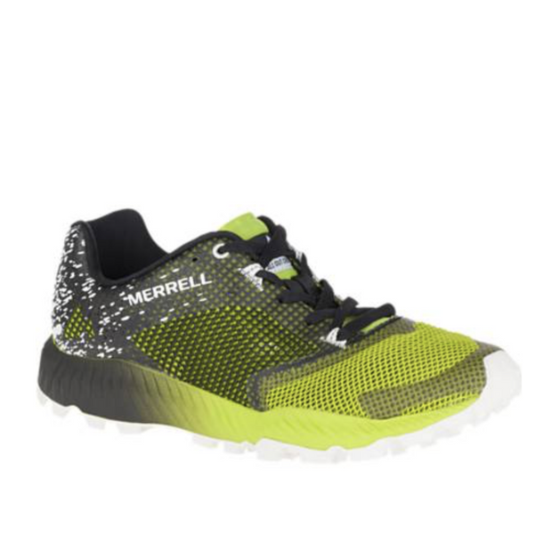 Men's All Out Crush 2 Black/Speed Green - The Grinning Goat