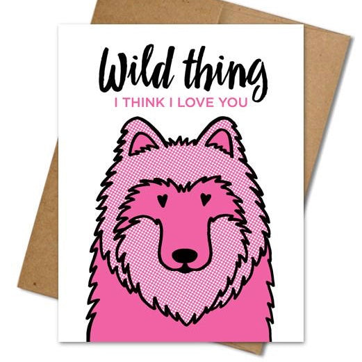 Wild Thing Card - The Grinning Goat