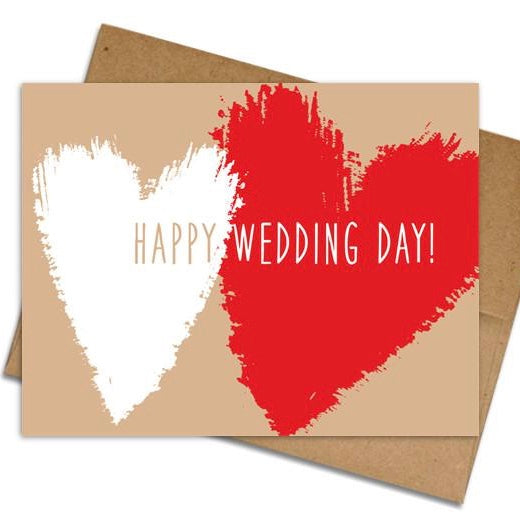 Wedding Day Card - The Grinning Goat