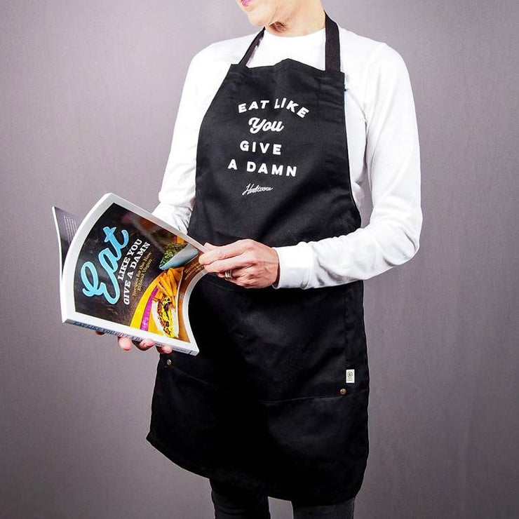 Eat Like You Give a Damn Apron - The Grinning Goat