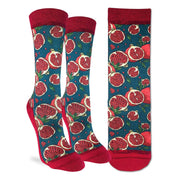 Pomegranate Active Fit Socks - Women's 5-9 - The Grinning Goat