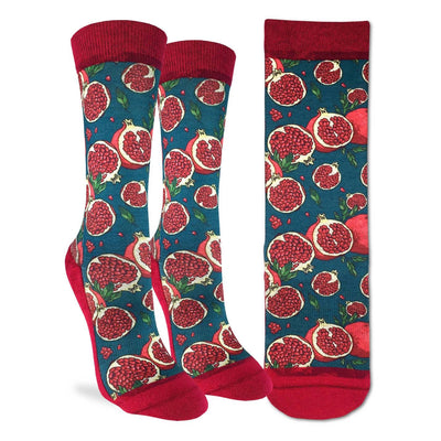 Pomegranate Active Fit Socks - The Grinning Goat
